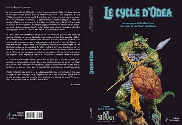 Couverture Le cycle d'Odéa